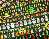 Christmas Theme Japanese Fabric half meter nc55