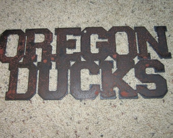 OregonDucks - University of Oregon Ducks Metal art
