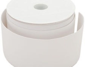 White Extra Wide Elastic, 3 inch wide- 1 yard