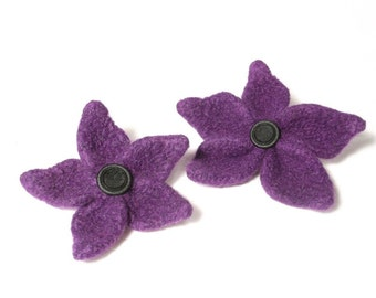 "Felt Flower knitting pattern ""Lynne"""