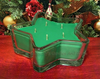 Home for the Holidays PURE SOY Star Container Candle 11 oz.