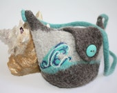 Swell Felted Wool Purse