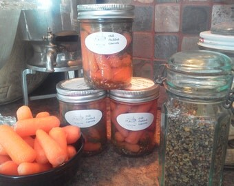 Dill Pickled Carrots