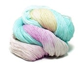 300 Yards Hand Dyed Cotton Crochet Thread Size 10 3 Ply Specialty Light Fuchsia Turquoise Pale Pink Cream Christmas Thread Fine Cotton Yarn