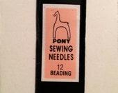 Pony Beading Needles size 12 package of 25
