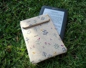 "Funda acolchada para Kindle de 6"" con cierre de velcro / ebook / e-book / e-Reader / tablet / ereader / móvil"