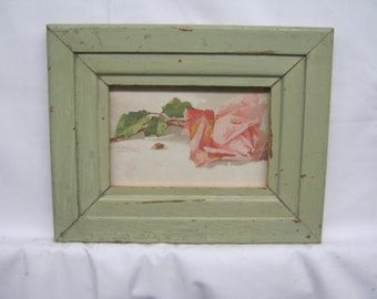 Shabby Architectural Salvaged Reclaimed Wood photo Picture Frame 4 X 6 S 1863-14