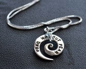 VBAC Without Fear Spiral Necklace
