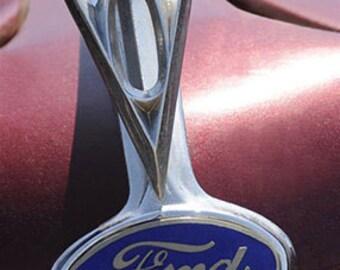 Ford Hood Ornament - 8x10 Fine Art Photograph