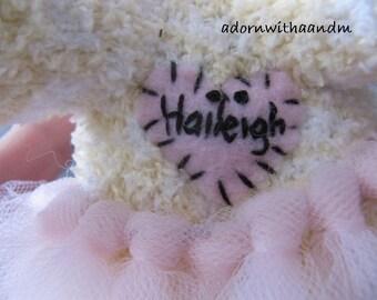 Monogramming, Personalizing, Customizing your sock monkey (a)