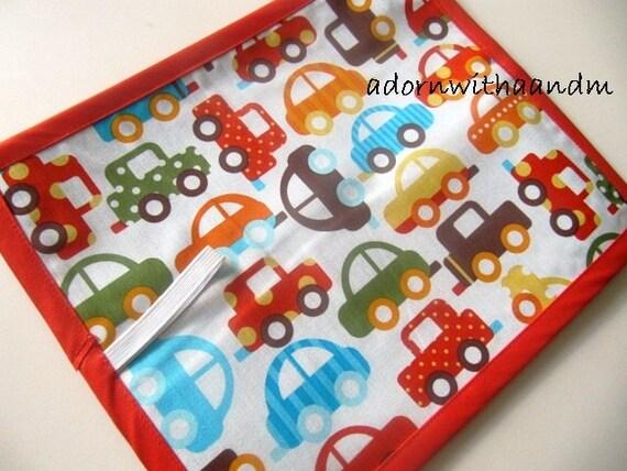 Chalkimamy Anne Kelle cars TRAVEL chalkboard mat placemat (a)