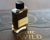 Chaparral Botanical Natural Perfume in Classic Bottle - Sage & wood, a cowboy, wild west fragrance - California woodland, perfect for Dad