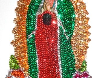 Gorgeous our lady of guadalupe appliqué