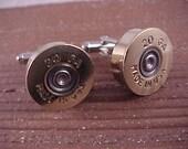 Shotgun Cufflinks/  20 Gauge Shotgun Shell Cuff Links / Wedding Cufflinks / Groomsmen Gifts / Gifts For Men / Real Shotgun Shell