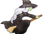 Witch Window Cling