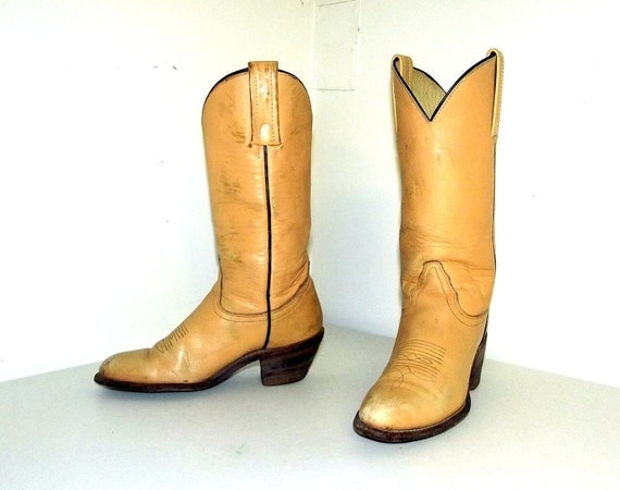 womens cowboy boots frye brand size 6 b by honeyblossomstudio