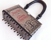 Anne Rice Vampire Chronicles Book Purse with Embellished Ribbon Beads