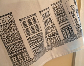 Rowhouse Tea Towel