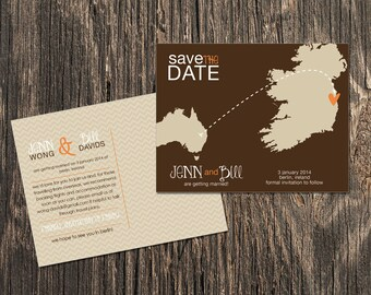 Ireland – Save the Date – Destination Wedding – Wedding Save the Dates