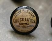 Vintage Knob Chocolate Door Pull
