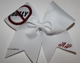 Abby's Pledge Bows - STOP Bullying - Help her cause with this donation purchase