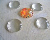 50...16mm Glass Tile Cabochons. Great for  Rings, Magnets and pendant settings.