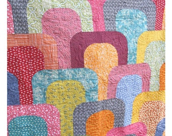 Tunnel Vision Quilt Pattern-pdf