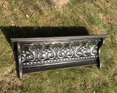 PriMiTiVe Shelf with Tin Crown Molding - Short Version