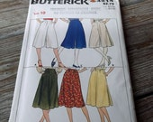 Butterick 4214 Misses' Skirt and Culottes Sewing Pattern Size 10