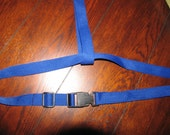 poly webbing belt with clip lock with loop  for high chairs or custom work