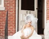 Wedding Veil, Bridal Headpiece -- Classy Bubble Veil