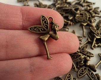 Fairy - Antique Brass - Set of 8 - #F134