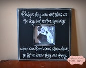 "12"" x 12"" Quote Picture Frame Perhaps they are not STARS IN the SKY In Memory picture frame"