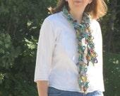crochet pattern scarf bundle  - 4 easy fun to make unique crochet scarves designed by anastacia knits designs