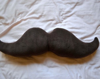 The Most Dapper Moustache Pillow In All the Land