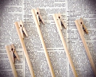 Table Numbers, Wedding, Shower, Table number on a stick, Table number holder, Card holder, Clothes Pin Card Holder