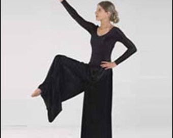 Praise Dance Worship Extra Wide Palazzo Pants By