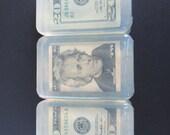 Money Soap Twenty dollar bill President Jackson soap