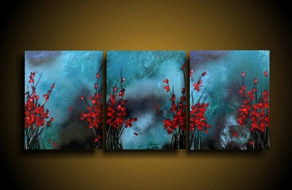 Abstract Painting Large Asian Painting Modern By