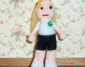 "Sookie Stackhouse Doll  3""  True Blood Merlotte's"