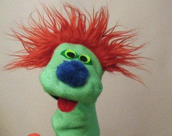 "Classic ""Sammy"" Sock Puppet."