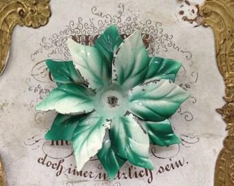 Vintage Enameled Flower