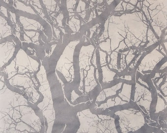 Blackwell water oak linocut