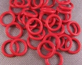 12mm Candy Red Rubber Orings