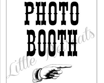 INSTANT PDF Dowload. Photo Booth Sign. Photo Booth Prop. Photobooth Prop. Photo Booth. Wedding Decor. Wedding Photos, Wedding Reception