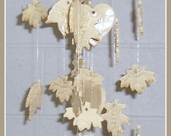 Family Tree Custom Wind Chime Heart of the Family