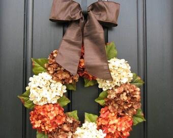 Fall Wreaths, Autumn Wreaths, WREATHS, Shabby Chic Fall Decor, Year Round Wreaths, Fall Decor, Front Door Wreaths
