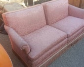 1940s 2 pc Art Deco Pink Salon Sofa - hairojuku