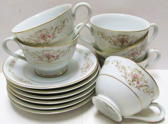 Teacups saucers tea party 6 sets wedding favors by for Teacup party favors