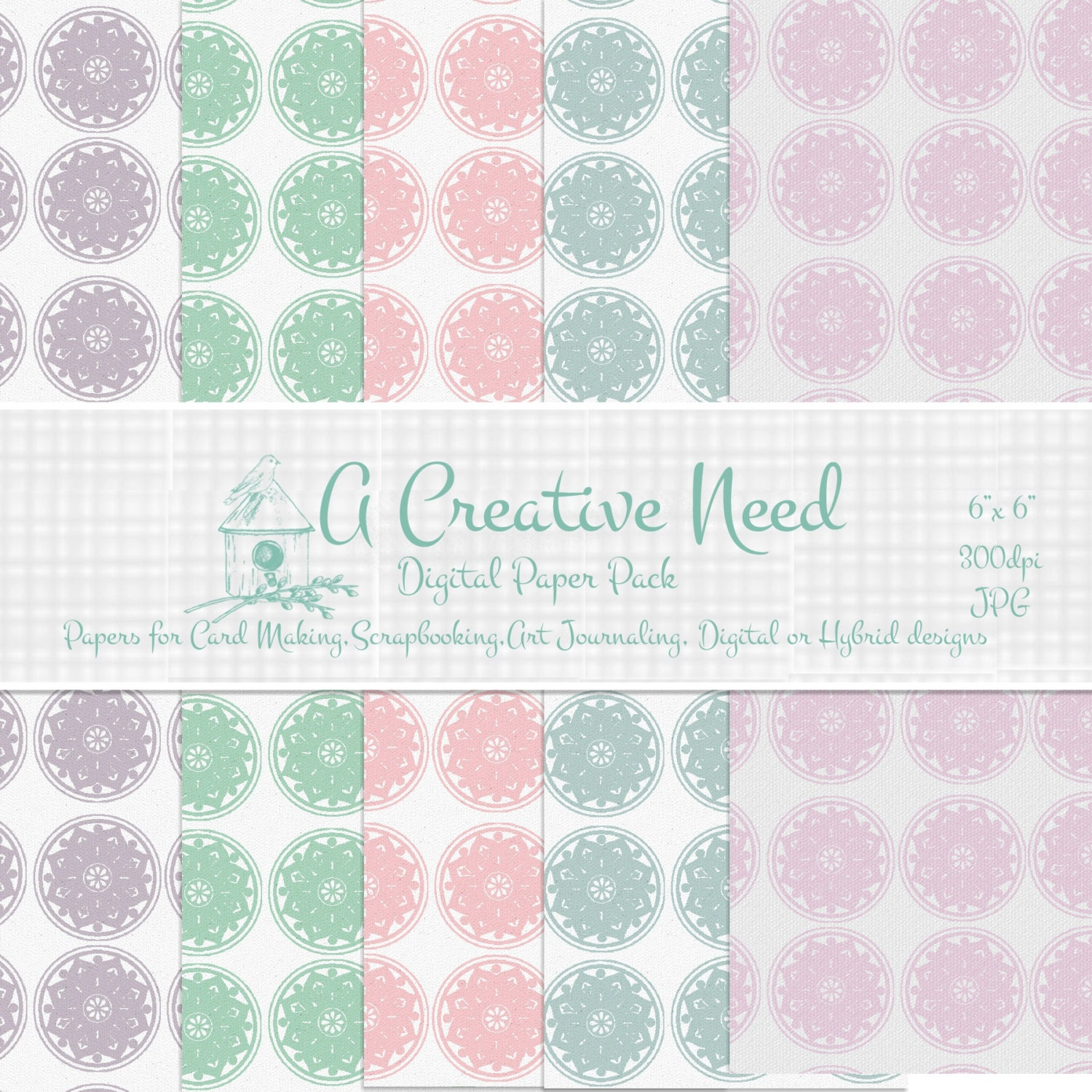 Scrapbook paper angel policy
